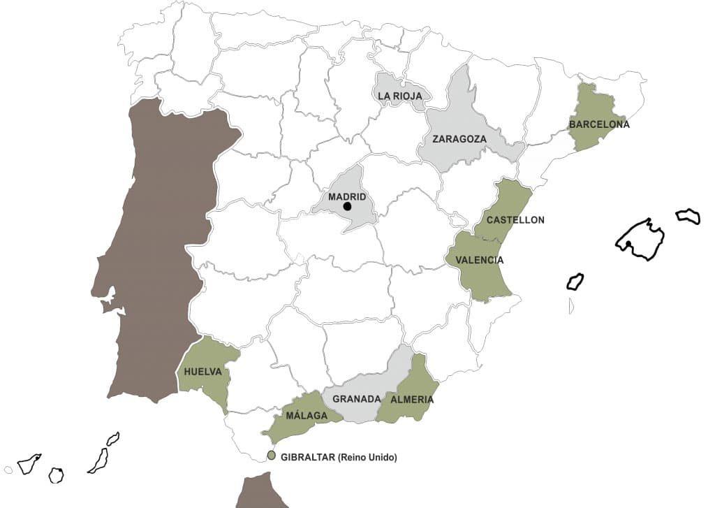 Imagen de mapa de AND canino.
